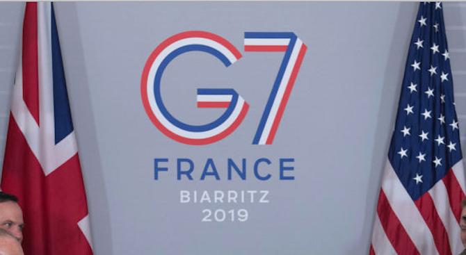 Иранският външен министър Зариф пристигна в Биариц