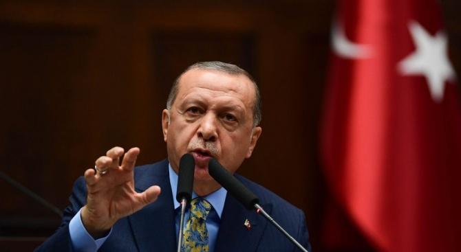 Ердоган отново категоричен: Турция ще защитава правата си Източното Средиземноморие