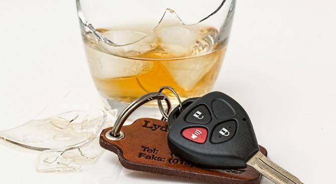 Катастрофа с пиян зад волана в Бургас