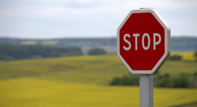 Пиян шофьор не спря на Стоп и предизвика катастрофа