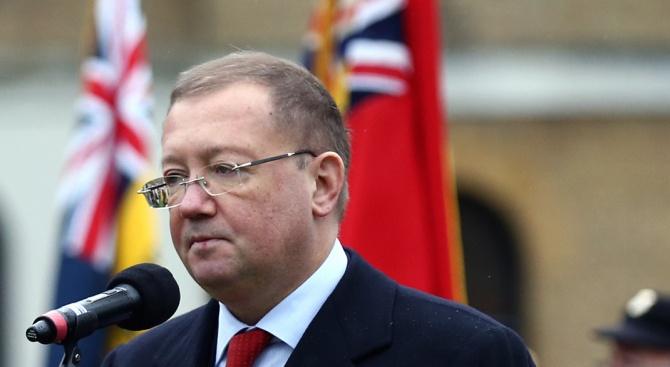 Владимир Путин освободи от длъжност руския посланик в Лондон