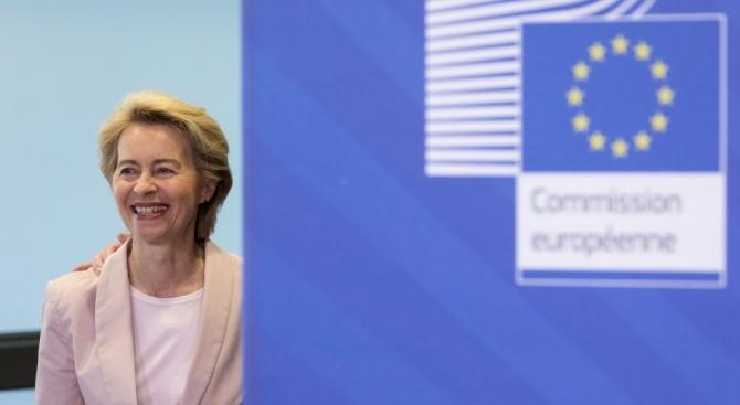 Урсула фон дер Лайен започва процеса по сформиране на екипа си от еврокомисари