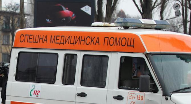 Кола помете внезапно изскочил пиян пешеходец в Хасково