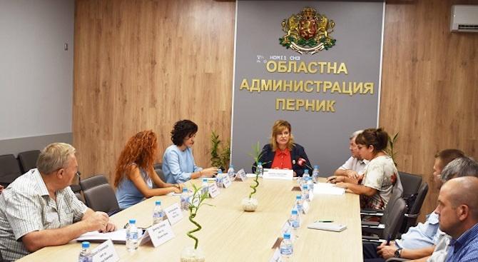 В Областна администрация - Перник се проведе заседание на Епизоотичната комисия