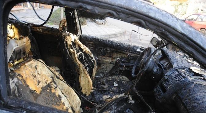 Автомобил се запали в Бургас
