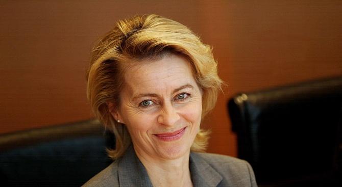 Урсула фон дер Лайен идва на посещение в България