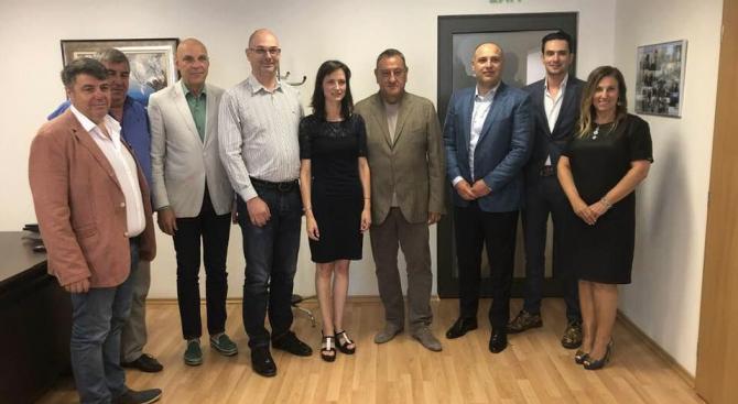КСБ и еврокомисар Мария Габриел ще работят за създаване на дигитален хъб в строителството