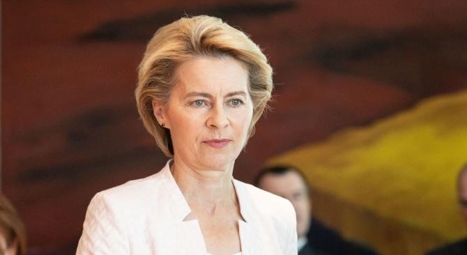 Урсула фон дер Лайен пристига в България