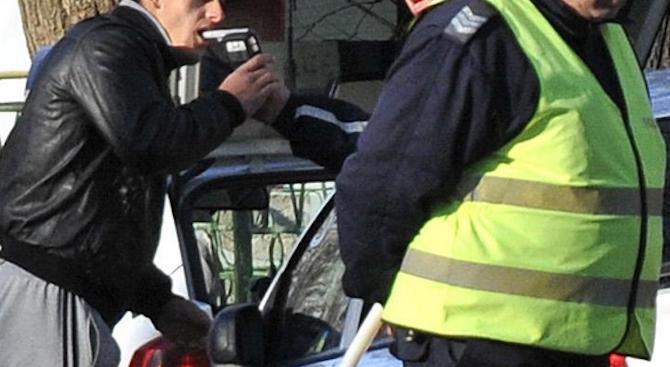 Поредният пиян шофьор е установен в Пернишко