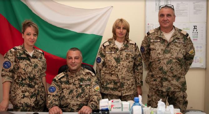 Български медици под пагон посрещат празника си на пост в Афганистан, Мали и Босна