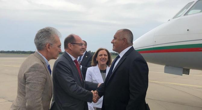 Бойко Борисов пристигна в Берлин