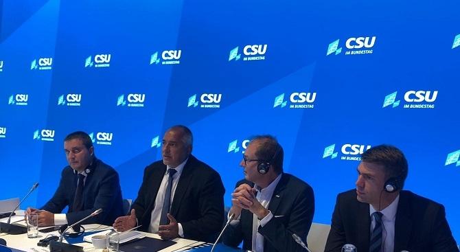 Борисов в Берлин: Германия е наш стратегически партньор в ЕС и близък сътрудник в  НАТО