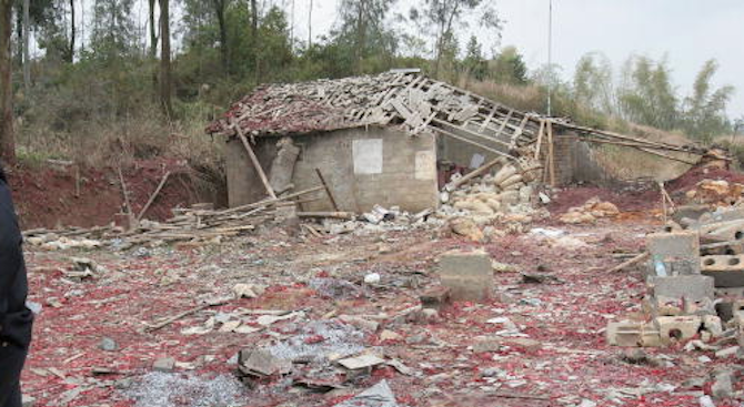 Експлозия във фабрика за фойерверки в Индия взе жертви