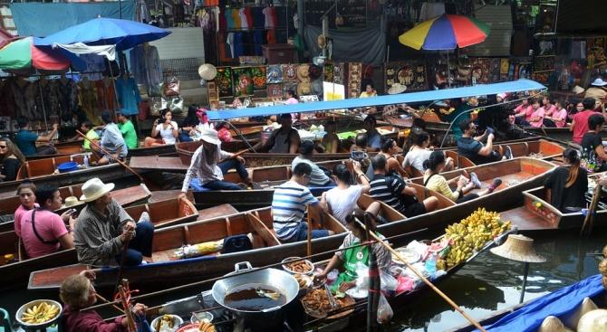 Банкок е бил най-посетеният от чуждестранни туристи град миналата година