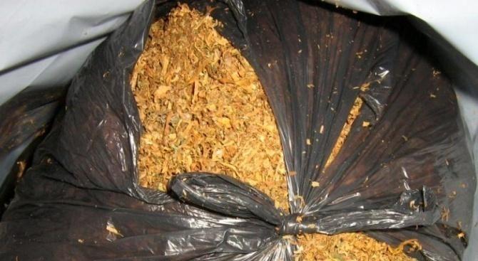 Видински полицаи иззеха тютюн и цигари без бандерол