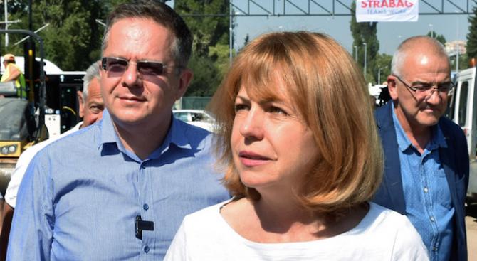 Фандъкова поиска СОС да отпусне помощи за хората, чиито жилища пострадаха при пожара в Бухово