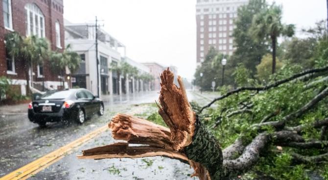 Ураганът Дориан наближава Чарлстън, Южна Каролина