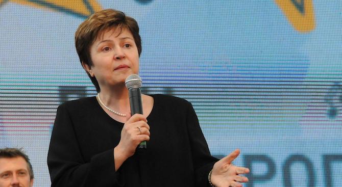 Кристалина Георгиева е единствен кандидат за шеф на МВФ
