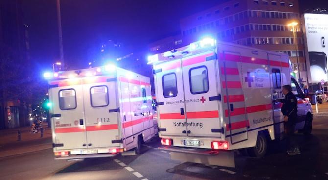Тиган се взриви в Германия. 14 ранени