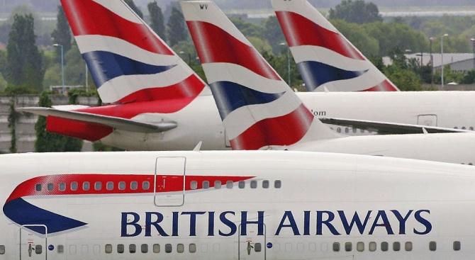 Пилотите на Бритиш еъруейз започнаха безпрецедентна 48-часова стачка