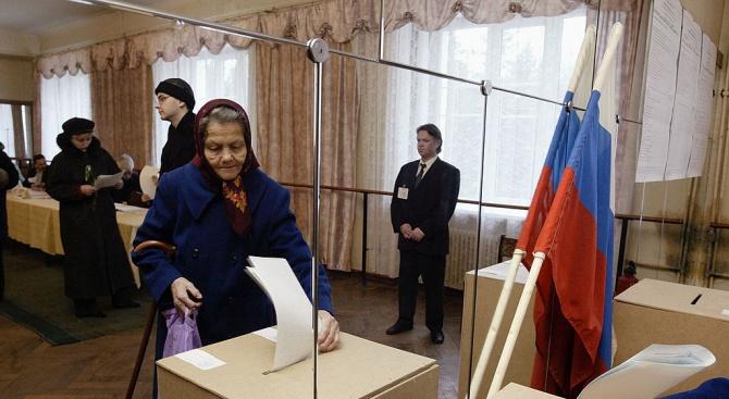 """""""Единна Русия""""напът да спечели вота за губернатори в 16 региона"""