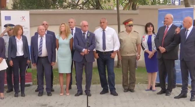 Бойко Борисов: Само един обект ни остана да спасим от тези, които говорят за корупция