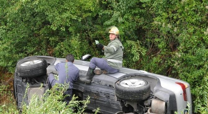 Катастрофа край Харманли: Един загина на място