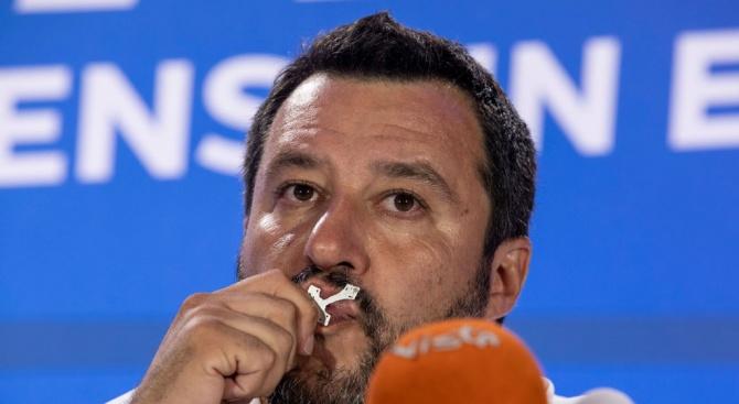 Салвини се закани: Ще съм сериозна опозиция