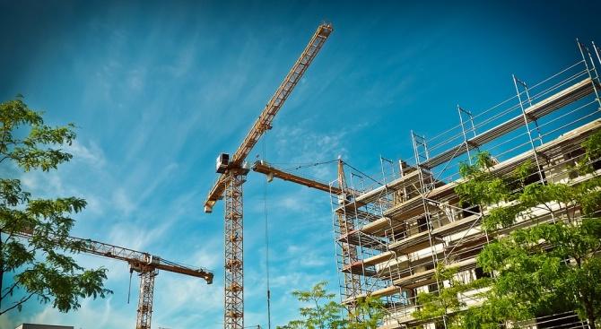"""НСИ отчете ръст на индекса на продукцията в сектор """"Строителство"""""""