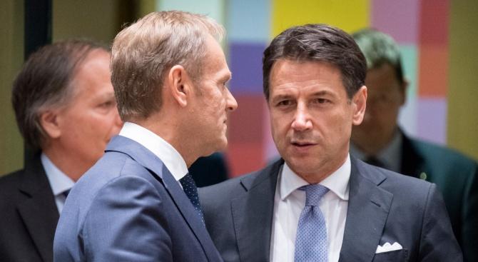 Новото коалиционно правителство на Италия получи вот на доверие