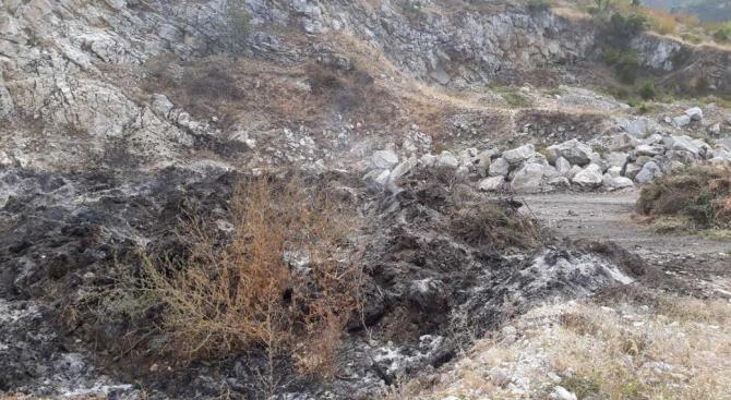 Няма опасност за здравето на хората от Куклен след пожара