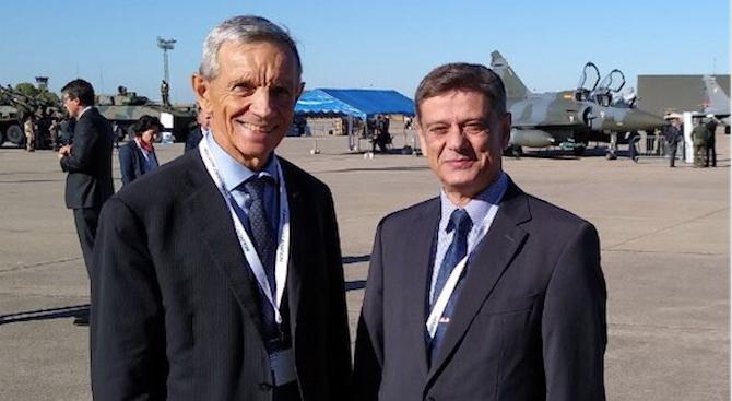 Ген. Константин Попов участва в 17-ата лятна конференция по отбрана в Бурж