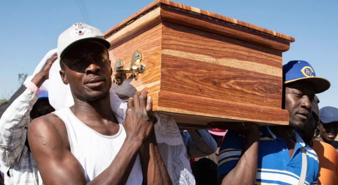 Семейството на Мугабе иска частно погребение