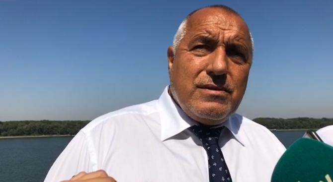 Премиерът Бойко Борисов в Русе: Доволен съм от вида на града