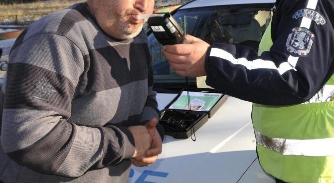 Водач в нетрезво състояние е задържан в елинпелинското село Байлово