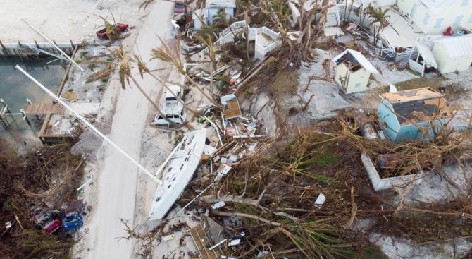 Бурята Умберто в Атлантическия океан доби силата на ураган