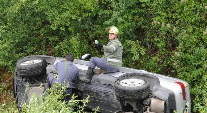 Румънец катастрофира край Плевен