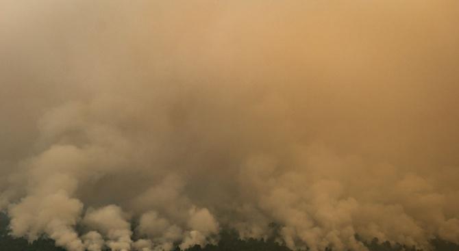 Голям пожар във Варна