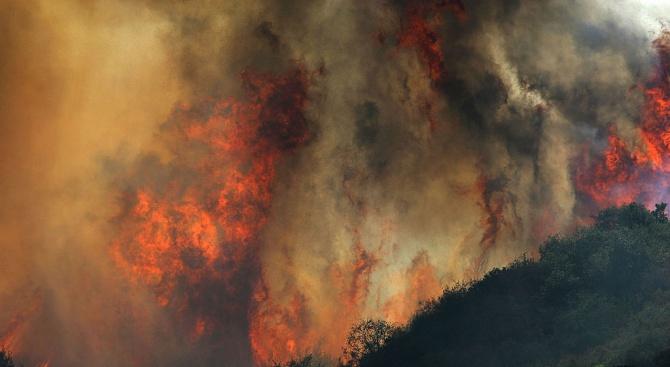 Над 80 пожара горят в страната