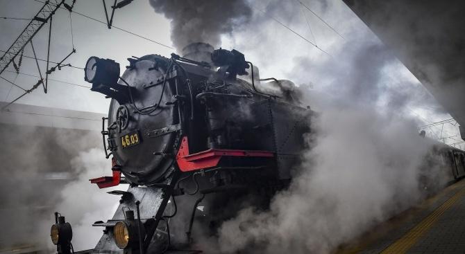 БДЖ организира пътуване с парен локомотив за Деня на Независимостта