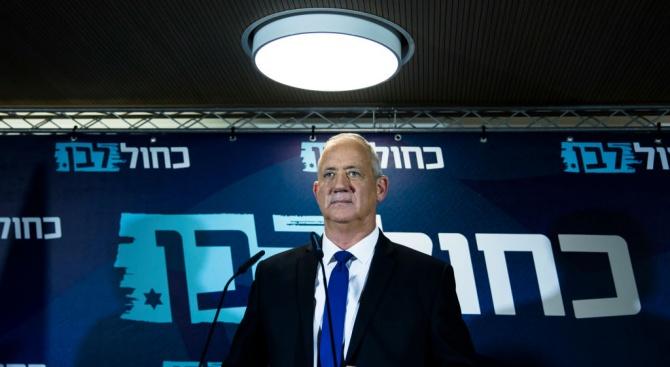 Арабските партии в Израел подкрепят Бени Ганц за премиер