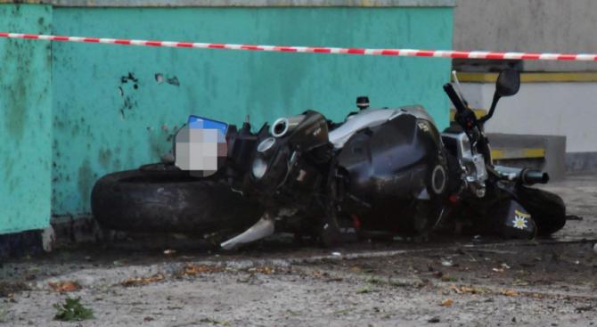 Моторист загина в опит да избегне крава на пътя