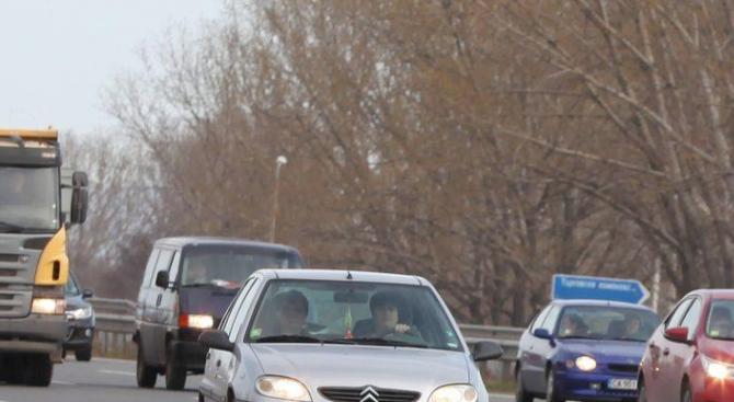 Възстановено е движението при разклона за Разград по пътя Русе - Разград - Шумен