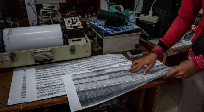 Две земетресения са разтърсили Балканите тази сутрин