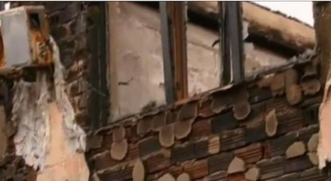 Пожарът в Първомай унищожил хотел, а не болница