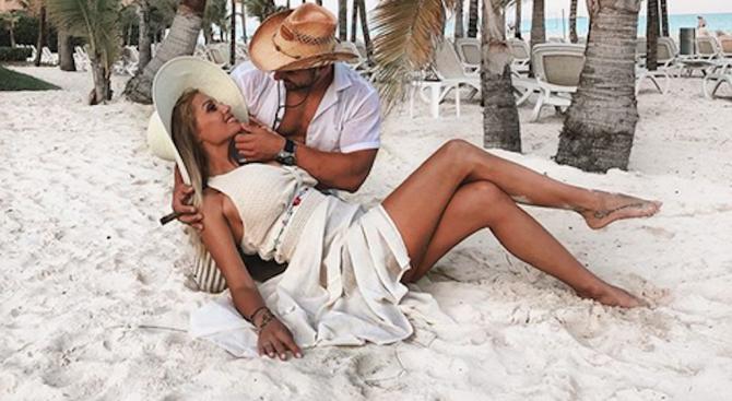 Джулиана Гани е бременна в седмия месец