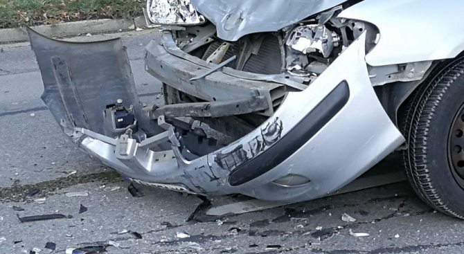 Катастрофа край Монтана, има ранени