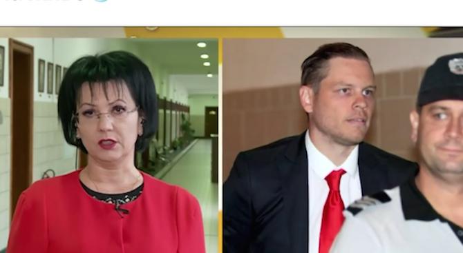 Румяна Арнаудова: С документи Полфрийман може да напусне страната незабавно