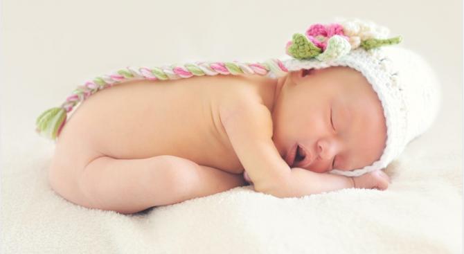 Най-много бебета във Великобритания се раждат на 26 септември