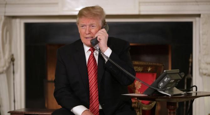 Тръмп е поискал от Зеленски в телефонен разговор да разследва Байдън и сина му